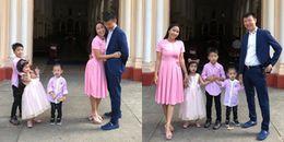 yan.vn - tin sao, ngôi sao - Ốc Thanh Vân đưa 3 nhóc tỳ trở lại nơi hai vợ chồng làm đám cưới 9 năm trước