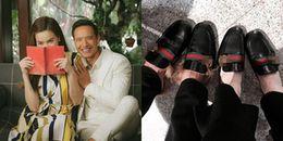 Kim Lý diện giày đôi đi du lịch ở Úc, gọi Hồ Ngọc Hà là 'em yêu'