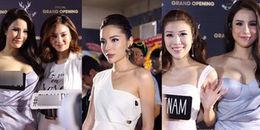 yan.vn - tin sao, ngôi sao - Hoa hậu Kỳ Duyên khoe vẻ gợi cảm đi dự sự kiện cùng Diệp Lâm Anh