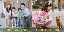 Ở Nhật Bản, không chỉ sống với búp bê tình dục đến hết đời, mà còn có thể thuê hẳn một... gia đình