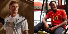 Cận cảnh áo đấu phong cách Retro của các đội tuyển tại World Cup 2018