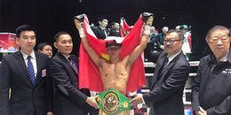 Đấm gục đối thủ sau 40 giây, Trần Văn Thảo đoạt đai WBC lịch sử