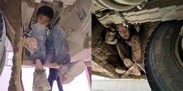 Hai bé trai trốn dưới gầm xe khách suốt quãng đường 80km và nguyên nhân khiến ai cũng phải xót xa