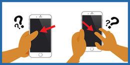 """Hóa ra cách cầm điện thoại có thể """"tố cáo"""" tính cách và chuyện tình yêu của bạn"""