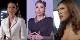 Hoa hậu Kỳ Duyên 'mạnh miệng' tuyên chiến với Phạm Hương và Minh Tú ngay khi chạm mặt