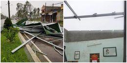 Bão số 12 quần thảo đã kinh hoàng, người dân Phú Yên, Khánh Hoà còn bị mất điện diện rộng