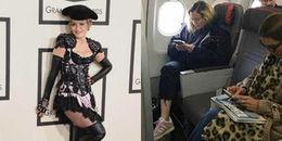 Madonna bất ngờ ngồi máy bay hạng phổ thông dù sở hữu tài sản tỷ đô