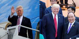 Hôm nay Tổng thống Donald Trump tới Hà Nội