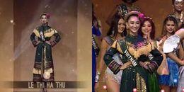 Trực tiếp Hoa hậu Trái đất 2017: Hà Thu xuất sắc lọt Top 16