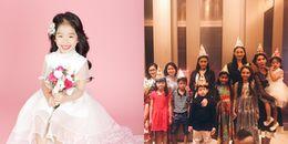 Dàn sao Việt nô nức đưa con đến dự sinh nhật 4 tuổi 'công chúa' nhà Xuân Lan