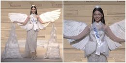 Trực tiếp Chung kết Hoa hậu Quốc tế 2017: Thùy Dung xuất hiện tự tin trong trang phục dân tộc