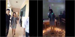 Cô giáo hạnh phúc trước tình cảm thầy trò, khi được học sinh tổ chức sinh nhật bất ngờ giữa lớp