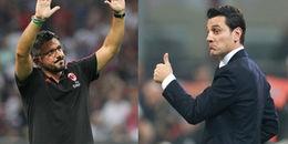SỐC: AC Milan sa thải Vicenzo Montella, bổ nhiệm 'Tê giác' Gattuso làm tân HLV