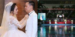 yan.vn - tin sao, ngôi sao - Quán quân Vietnam Idol 2014 và chồng đại gia hơn 14 tuổi tổ chức đám cưới ngọt ngào, lãng mạn