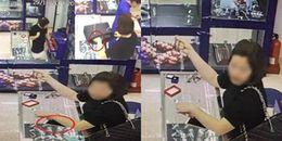 """Truy tìm """"hot girl"""" ăn trộm điện thoại của nhân viên bán hàng nhanh như chảo chớp"""