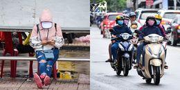 Chùm ảnh: Đâu chỉ có miền Bắc, người Sài Gòn hôm nay cũng co ro trong cái lạnh sau bão