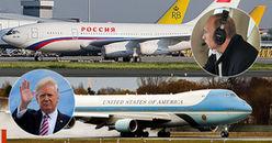 So kè chuyên cơ của 3 lãnh đạo dẫn đầu thế giới khi hạ cánh xuống Đà Nẵng