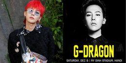 Thực hư thông tin G-Dragon sẽ đến Việt Nam vào đầu tháng 12