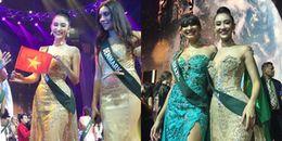 Đại diện Việt Nam nói gì sau khi trượt Top 8 Hoa hậu Trái đất 2017 đầy tiếc nuối?