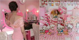 Cô nàng cuồng Hello Kitty và có anh người yêu chiều chuộng hết ý, đúng là chả còn cái nấc nào nữa!
