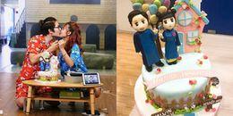 Nhân được quà cưới sớm, Kelvin Khánh - Khởi My hôn nhau khiến fan 'rụng tim'