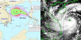 Cơn bão số 13 đang mạnh dần lên, diễn biến phức tạp