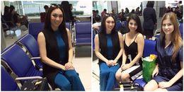 Hoa hậu Trái đất 2017 xuất hiện chớp nhoáng tại sân bay Việt Nam, tiếp tục gây thất vọng về nhan sắc
