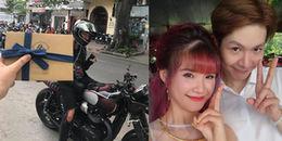 Kelvin Khánh thay Khởi My lái môtô đi gửi thiệp mời cho những vị khách cuối cùng