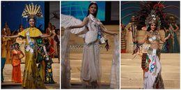 Trước thềm Chung kết Hoa hậu Quốc tế 2017, đại diện Việt Nam tự tin trình diễn trang phục dân tộc