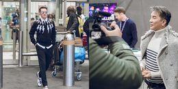 Đàm Vĩnh Hưng mang 80kg hành lý sang London dự lễ trao giải MTV châu Âu 2017