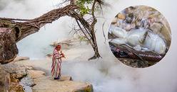 Cận cảnh dòng sông nước sôi 98 độ C, được mệnh danh là 'nguồn nước của tử thần' tại Amazon