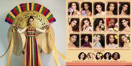 Đại diện Việt Nam đứng thứ mấy trong Top 10 trang phục dân tộc xuất sắc của Miss Universe 2017?
