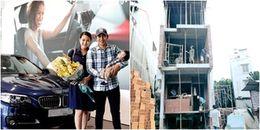 Hết tặng xe tiền tỷ, Thanh Bình lại xây nhà 5 tầng cho bà xã Ngọc Lan