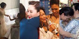 yan.vn - tin sao, ngôi sao - Xúc động với khoảnh khắc mẹ ruột dặn dò mỹ nhân Việt trước khi về nhà chồng