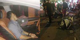 Hải Phòng: Thanh niên lái ô tô mở nhạc sàn, miệng ngậm bóng nghi là bóng cười gây tai nạn liên hoàn