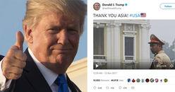 """Việt Nam được chọn làm hình ảnh mở đầu trong video """"Cảm ơn châu Á"""" của tổng thống Mỹ"""