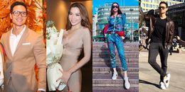Loạt đồ đôi đẹp mắt của Kim Lý - Hồ Ngọc Hà sau 4 tháng bên nhau