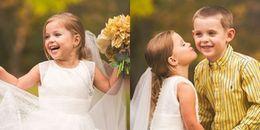 Ngắm cô bé 5 tuổi trong chiếc áo cưới thật đáng yêu nhưng câu chuyện đằng sau lại xót xa vô cùng