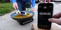 Chiên xù iPhone 8 như cá, kết quả chắc chắn khiến nhiều người kinh ngạc