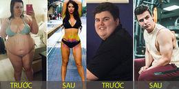 Loạt ảnh chứng minh chỉ cần giảm cân bạn sẽ trở thành 'soái ca', 'soái tỷ' ngay lập tức