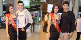 Tân Hoa hậu Hoàn cầu 2017 Khánh Ngân rạng rỡ về nước sau hơn 1 tuần đăng quang