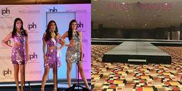 Đây là nguyên nhân khiến sân khấu Bán kết Miss Universe 2017 bị chê giống 'phông bạt hội chợ'