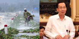 Sài Gòn họp khẩn chuẩn bị ứng phó với áp thấp nhiệt đới sắp mạnh lên thành bão