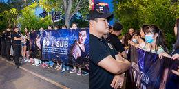 yan.vn - tin sao, ngôi sao - Lỡ dịp đón thần tượng ở sân bay, hàng trăm fan Việt xếp hàng gần hết buổi chiều chờ gặp So Ji Sub