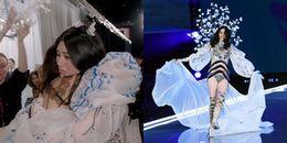 Phản ứng của thiên thần Victoria's Secret 2017 sau cú 'vồ ếch'' đi vào lịch sử
