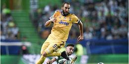 Highlights Sporting Lisbon 1 - 1 Juventus: Lão bà suýt khóc tại Lisbon