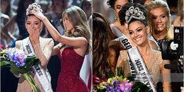 Loạt khoảnh khắc đăng quang đẹp 'đốn tim' của tân Hoa hậu Hoàn vũ Thế giới 2017
