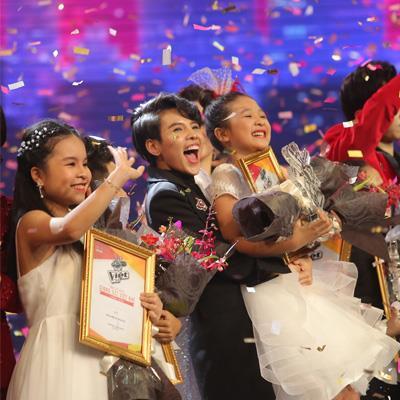 Học trò Vũ Cát Tường xuất sắc đăng quang Quán quân Giọng hát Việt nhí 2017