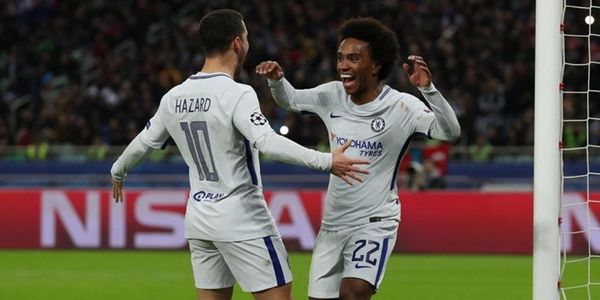Highlights Qarabag 0-4 Chelsea: The Blues nhẹ nhàng giành vé knock-out
