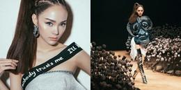 Minh Hằng đang cố chứng minh điều gì khi trở thành vedette tại ELLE Fashion Show 2017?